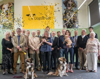Official opening of the training hall at the Dogs Trust, Snetterton.